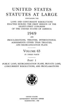 United States Statutes at Large Volume 63 Part 1.djvu