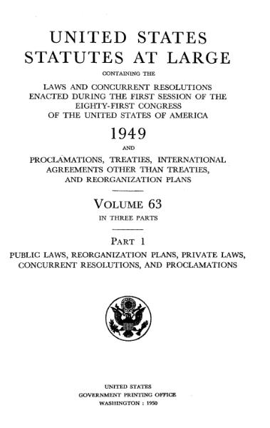 File:United States Statutes at Large Volume 63 Part 1.djvu