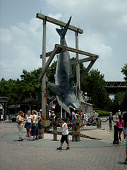 Jaws shark at Universal Studios Florida