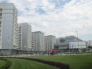 Belville, Belgrade Residential block in Belgrade, Serbia