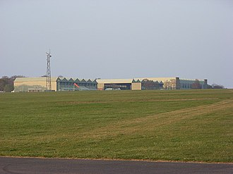 RAF Upavon - The airfield at former RAF Upavon during 2007.