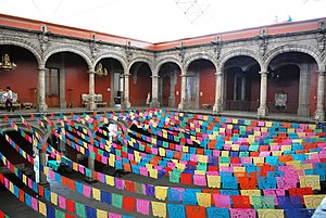 Museum of the City of Mexico - Upper main courtyard