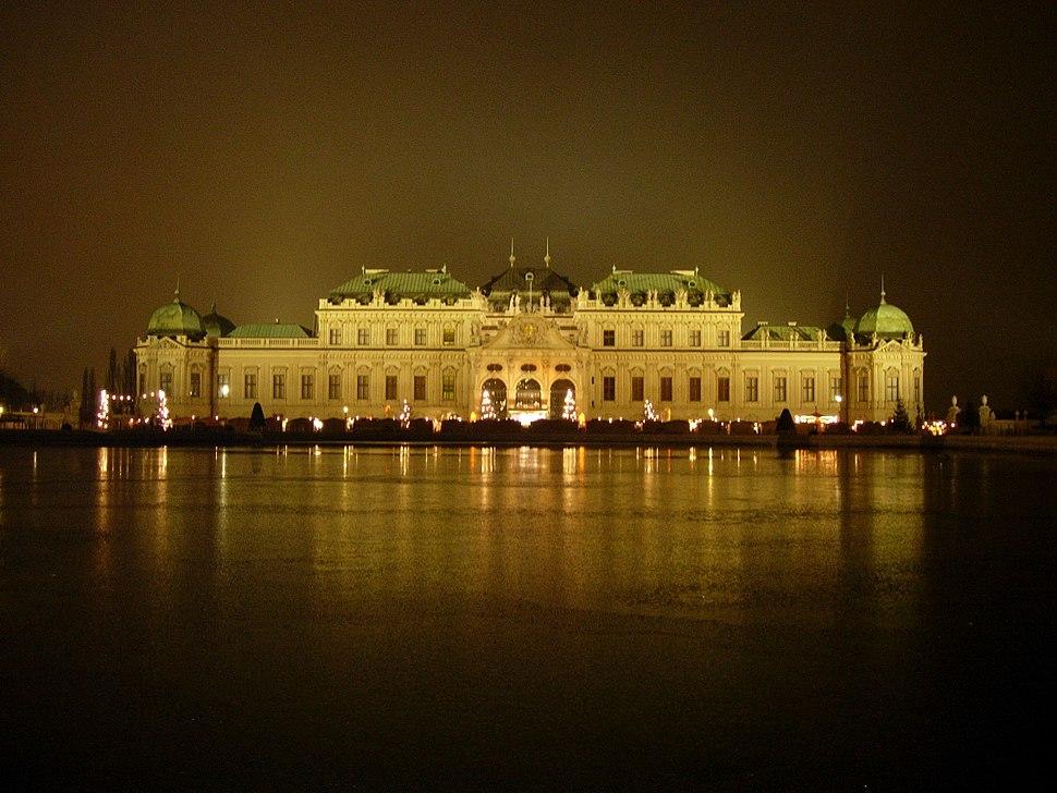 Upper Belvedere palace Vienna