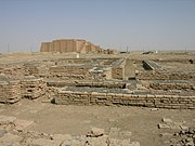 Ziggurat and the Ruins of Ur, Southern Iraq