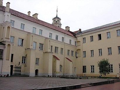 Kaip pateikti į Vilniaus Universiteto Biblioteka viešuoju transportu - Apie vietovę