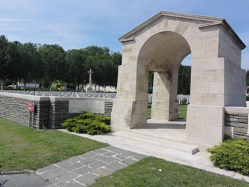 Vailly-sur-Aisne (Aisne) Cimetière brittannique (CWGC)