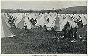 Valcartier - Section of the Camp