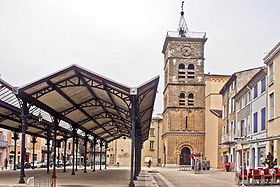 Image illustrative de l'article Église Saint-Jean-Baptiste de Valence