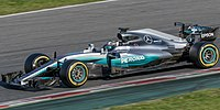 Mercedes F1 W08 EQ Power+ (2017)