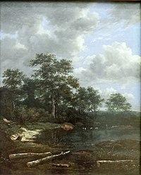 Van Ruisdael JI Teich a Waldrand.JPG