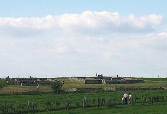 Kornelimünster/Walheim - the Varnenum, an excavated temple complex from the Gallo-Roman era