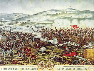 Greco-Turkish War (1897) war between the Kingdom of Greece and the Ottoman Empire