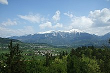VelikiStol Mountain from Slovenia.jpg