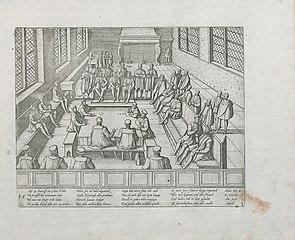 Verbod op protestantse prediking te Antwerpen, 1577