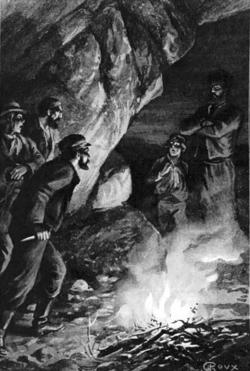 Verne - Les Naufragés du Jonathan, Hetzel, 1909, Ill. page 336