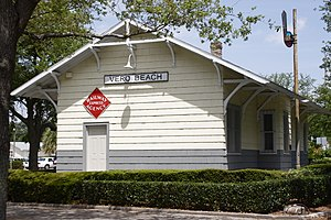 Vero Beach, Florida - Vero Railroad Station