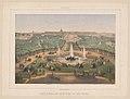 Versailles. Panorama du Château et du parc - Charles Rivière del. et lith. LCCN2016652466.jpg