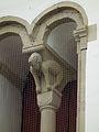 Verwitterte Tierskulptur Evangelische Kirche St Viktor Guntersblum 2011.JPG