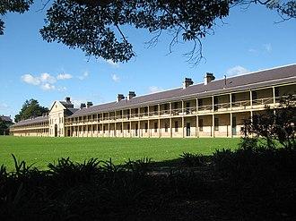 Victoria Barracks, Sydney - The main barracks block