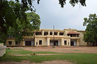Patha Bhavana, Santiniketan School in Santiniketan, West Bengal, India