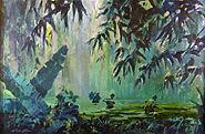 VietnamCombatArtCAT01Blum1966SwampPatrol
