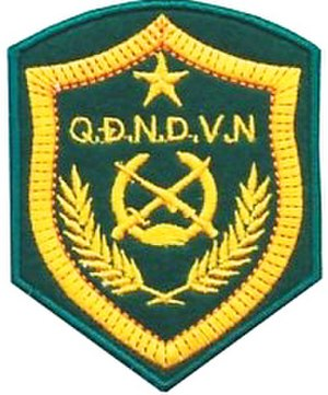 Vietnam Border Defence Force - Image: Vietnam Border Defense Force insignia