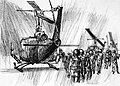 Vietnamese Soldiers Board Helicopter by Robert Knight CATI 1966.jpg