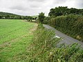 View along the Canterbury Road towards Newbarn - geograph.org.uk - 961336.jpg