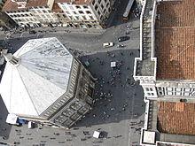 Veduta dal campanile di Giotto