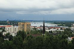 View from Suensaari water tower Tornio 20150806 02.JPG