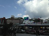 View in front of Nagasaki Station.JPG