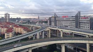 View near Jinjiang Park Station 20160809.jpg