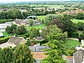 View north from St Sampson's tower, Cricklade - geograph.org.uk - 1476450.jpg