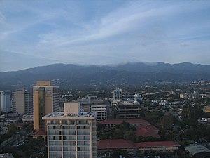 Jamaica Pegasus Hotel - View of Kingston from the Pegasus Hotel