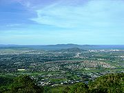 View of Townsville from Mt Stuart