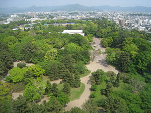 View of Toyohashi Park, from Toyohashi City Hall.jpg