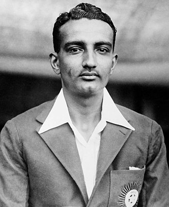 Vijay Merchant - Vijay Merchant in 1936