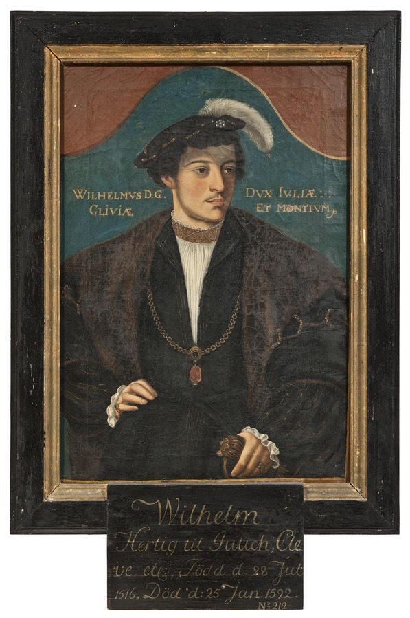 Portrait of William, Duke of Jülich-Cleves-Berg