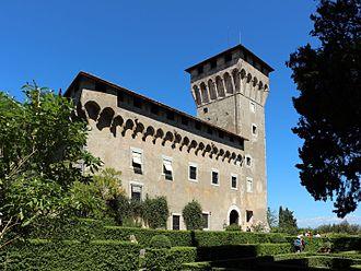 Medici villas - Villa del Trebbio