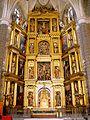 Villacastin - Iglesia de San Sebastian 25 - retablo mayor.jpg