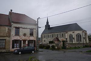 Villeneuve-sur-Fère - The church of Villeneuve-sur-Fère