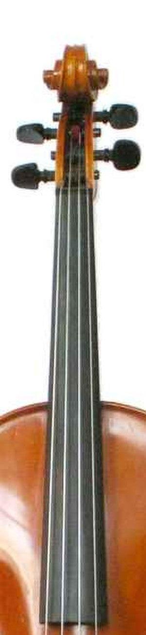 Fingerboard - Fretless violin fingerboard