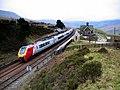 Virgin train at Dent Station - geograph.org.uk - 1244891.jpg