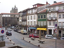 Town centre of Viseu.