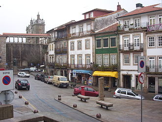 Viseu - Town centre of Viseu.