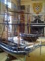 Viso del Marqués (RPS 19-08-2012) Palacio del Marqués de Santa Cruz, maquetas de barcos.png