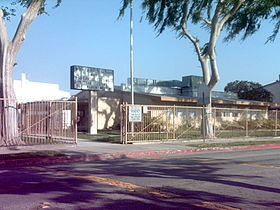 Vista High School front gate.JPG