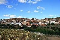 Vista de Castejón de Alarba, Zaragoza, España, 2015-09-16, JD 01.JPG