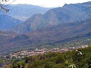 Northern Boyacá Province - View of Soatá