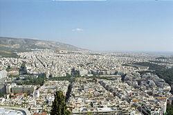 Panorámica de Atenas